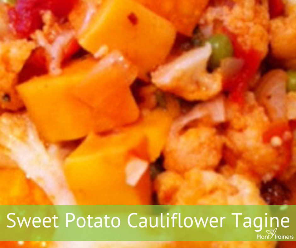 Sweet Potato Cauliflower Tagine