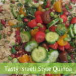 Israeli Style Quinoa