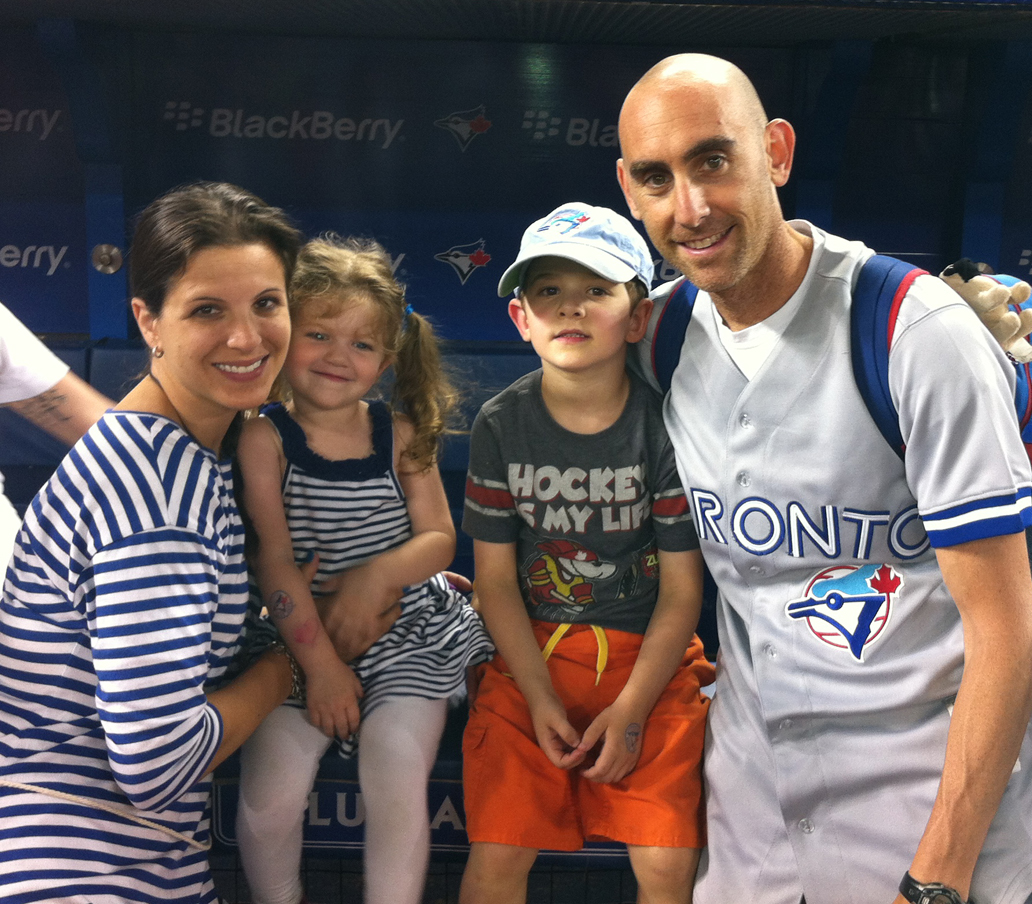 Family At Jays Game