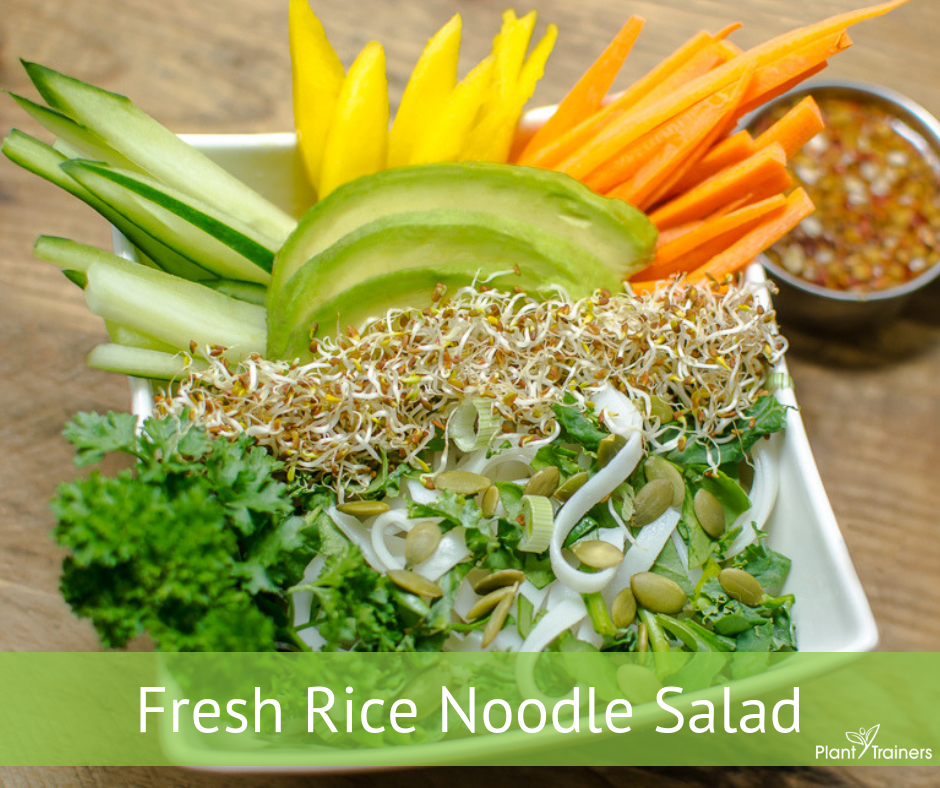 Fresh Rice Noodle Salad