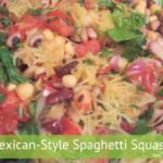 Mexican Style Spaghetti Squash