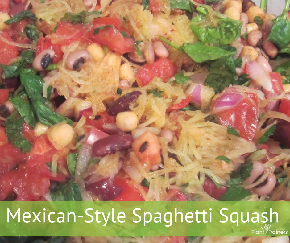 Mexican-Style Spaghetti Squash
