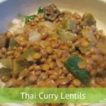 Thai Curry Lentils