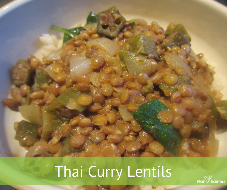 Thai Curry Lentils