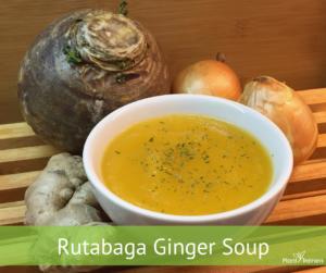 Rutabaga Ginger Soup