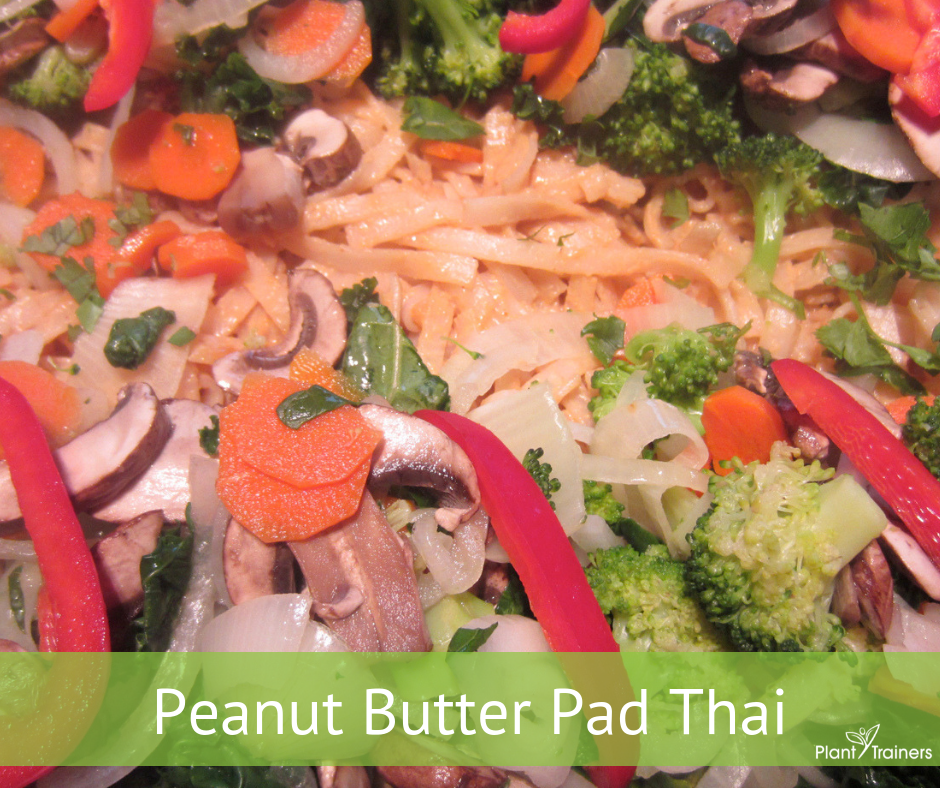 Vegan Peanut Butter Pad Thai