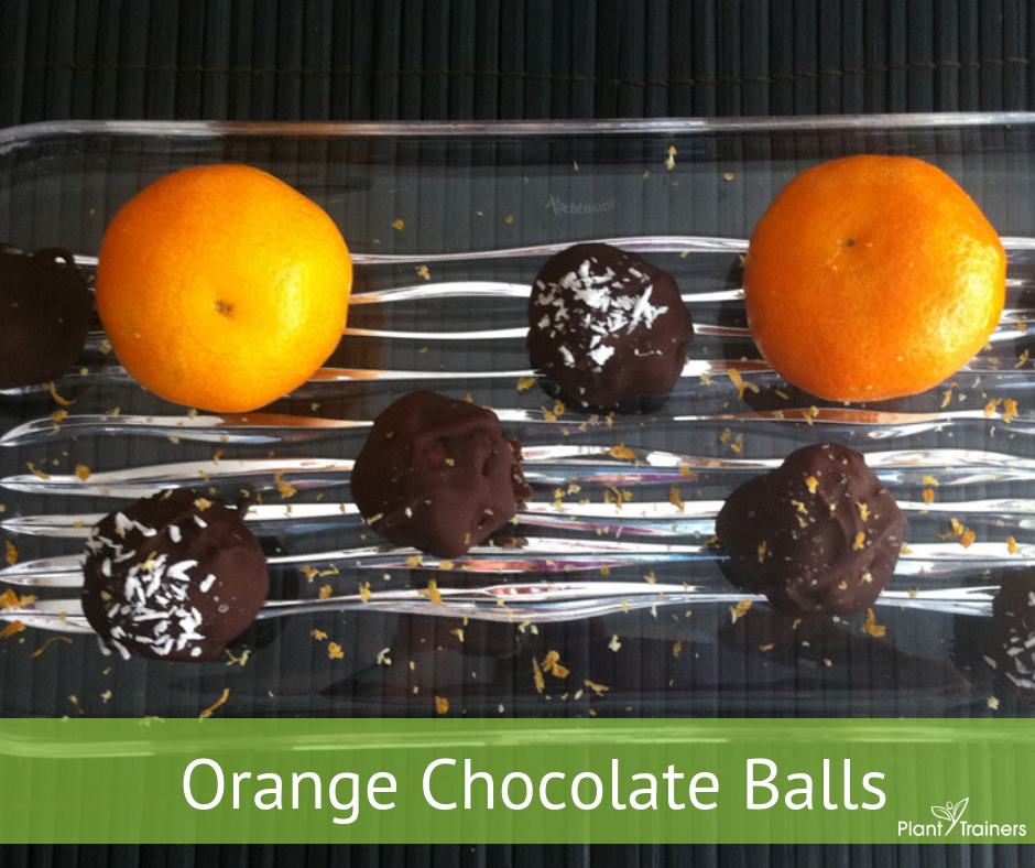 Orange Chocolate Balls