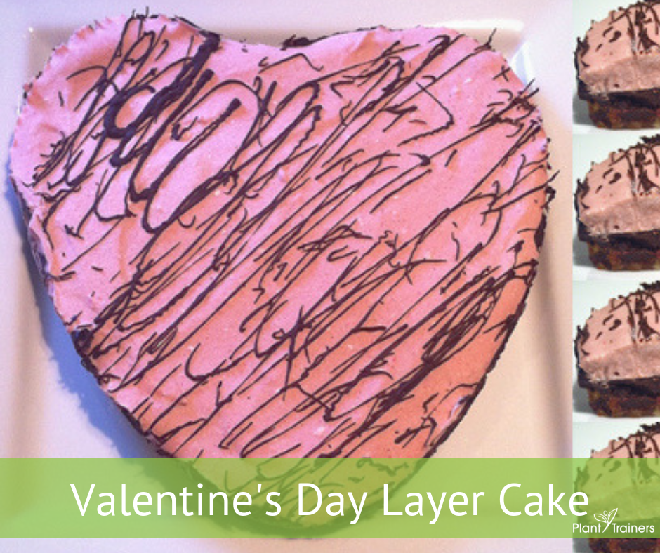 Valentine's Day Layer Cake