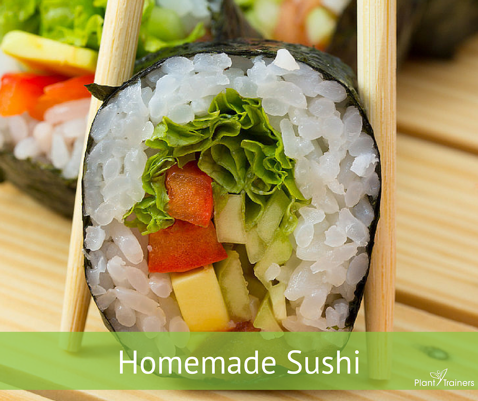 Learning How To Make Homemade Sushi