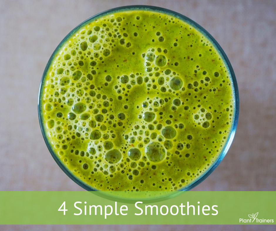 4 simple smoothies