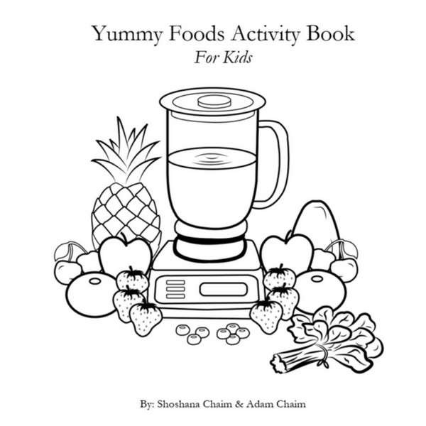 Yummy Foods Activity Book For Kids