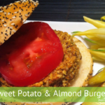 Sweet Potato Almond Burgers