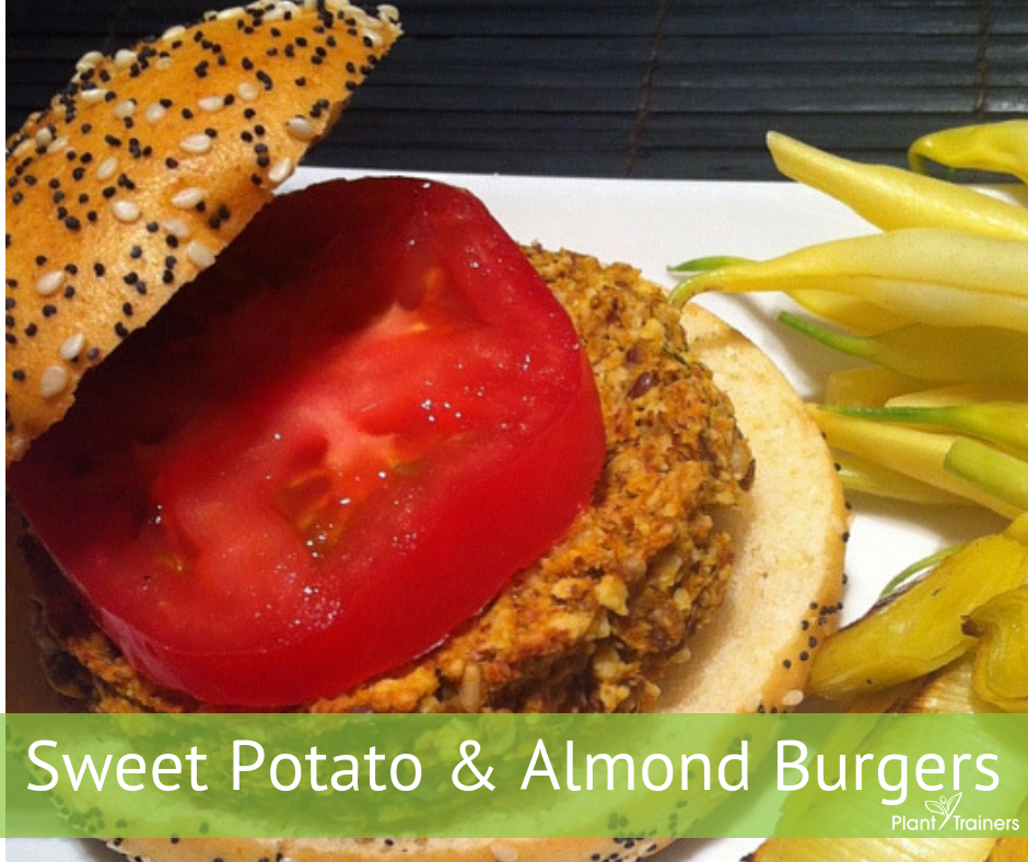 Vegan Burgers – Sweet Potato & Almond