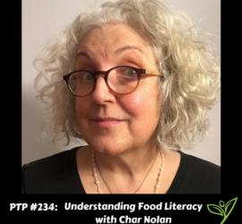 Understanding Food Literacy with Char Nolan - PTP234