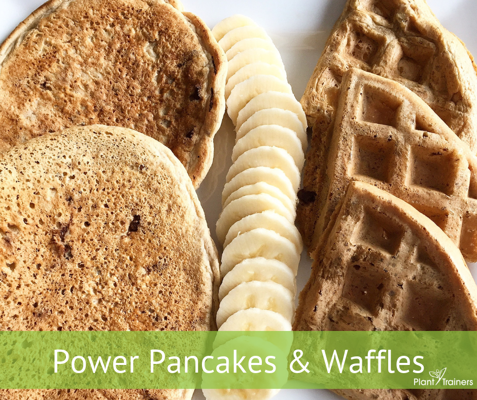 Gluten-Free Vegan Pancakes and Waffles