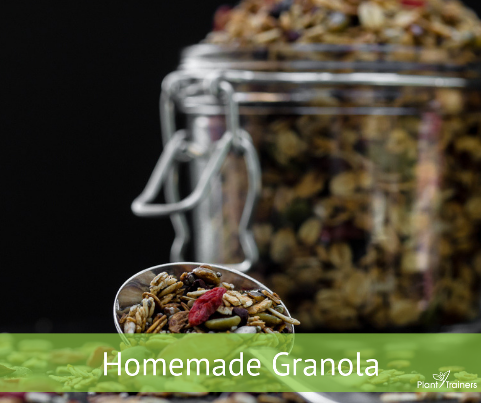 Homemade Delicious Granola
