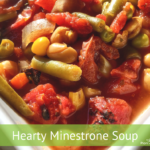 Heart Minestrone Soup