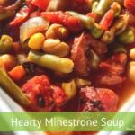 Heart Minestrone Soup
