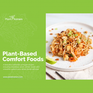 plant-based comfort foods cover