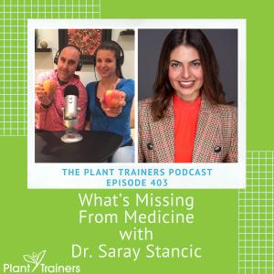 PTP403 Dr Saray Stancic