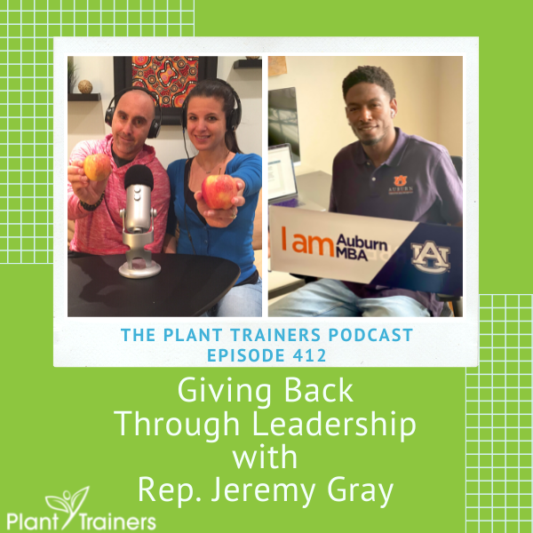 Giving Back Through Leadership with Rep. Jeremy Gray – PTP412